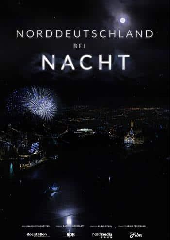 Nordeutschland bei Nacht Kino Plakat