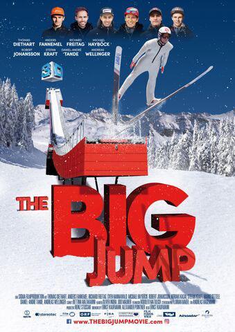 The big Jump Kino Plakat