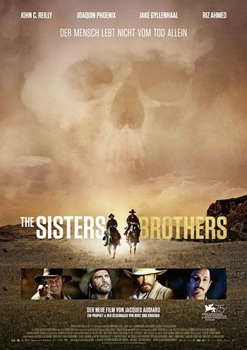 The Sisters Brothers Kino Plakat