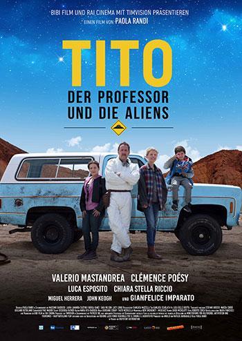 Tito, der Professor und die Aliens Kino Plakat