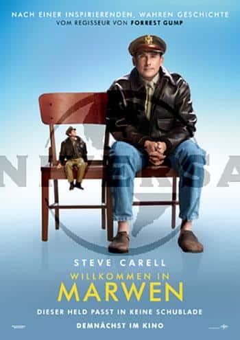 Willkommen in Marven Kino Plakat