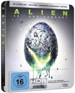 Alien 40th Anniversary 4K UHD Steelbook