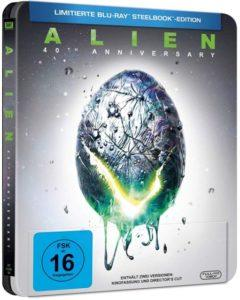 Alien 40th Anniversary Blu-ray Steelbook
