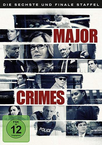 Major Crimes (Staffel 6) Cover