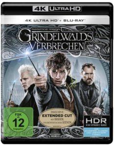 Phantastische Tierwesen Grindelwalds Verbrechen Film 4K