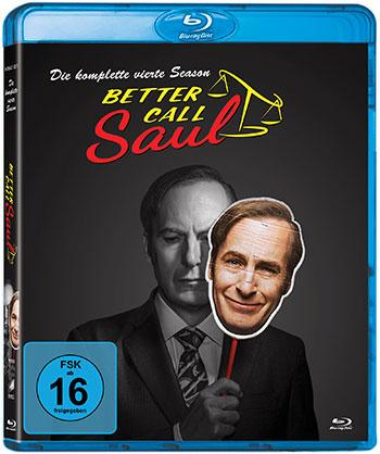 Better call Saul - Die komplette vierte Season Blu-ray Cover