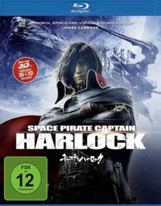 Captain Harlock Review 3D Cover