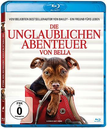 Die unglaublichen Abenteuer von Bella Blu-ray Cover
