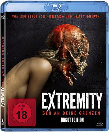 Extremity - Geh an Deine Grenzen (Uncut) Blu-ray Cover