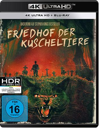 Friedhof der Kuscheltiere (1989) 4K UHD Blu-ray Review Cover
