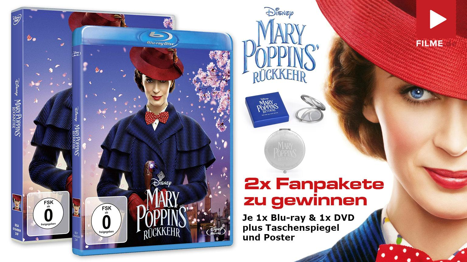 Mary Poppins Rückkehr Gewinnspiel Fanpakete Artikelbild