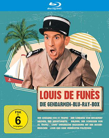 Louis De Funes – Gendarmen Blu-ray Box Review Cover