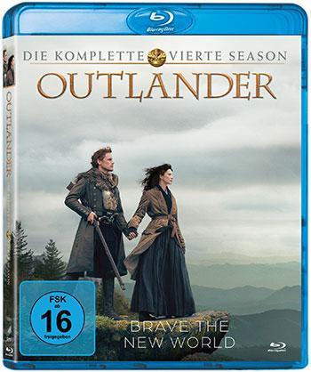 Outlander - Die komplette vierte Season Blu-ray Cover