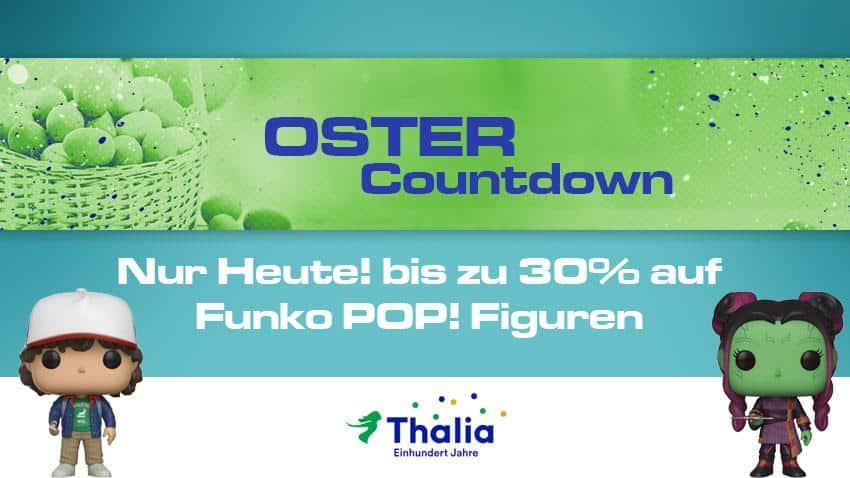 Thalia Oster-Countdown bis zu 30% auf Funko POP! Figuren Artikelbild