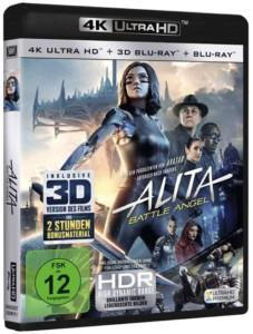 Alita Battle Angel 4K UHD Film