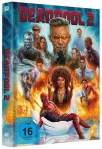 Deadpool 2 Mediabook Swan Artwork