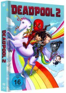 Deadpool 2 Mediabook Unicorn Artwork