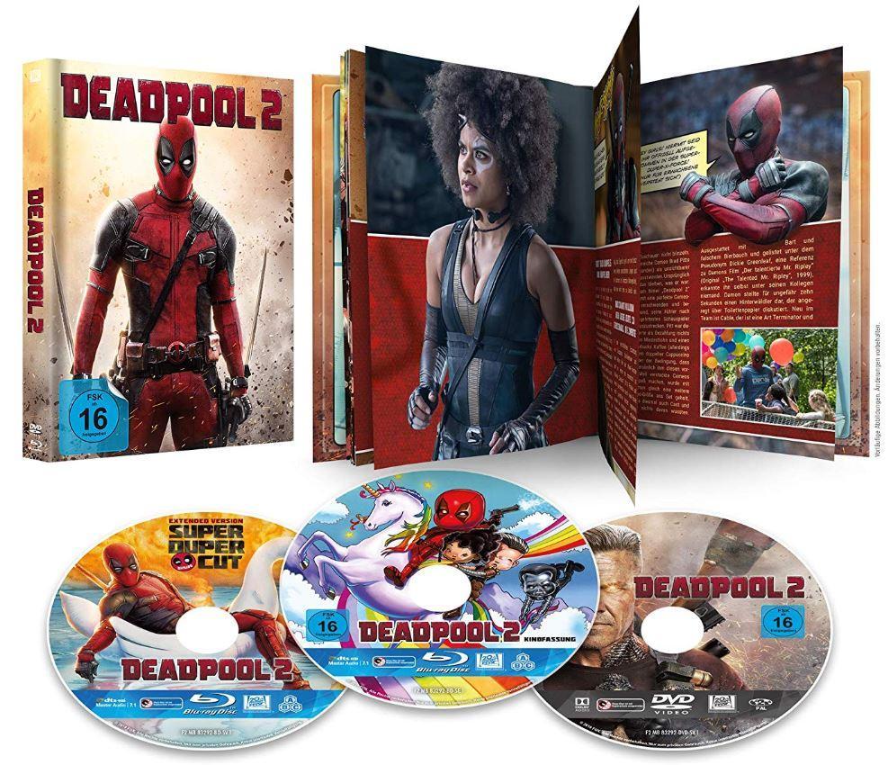 Deadpool 2 Mediabook