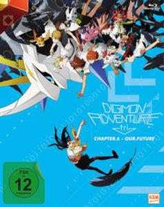 Digimon Adventure tri Chapter 6 Our Future Cover