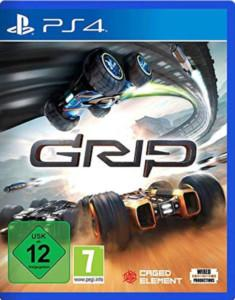 GRIP Combat Racing PS4 Review Cover