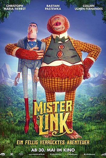 Mister Link - Ein fellig verrücktes Abenteuer Kino Plakat