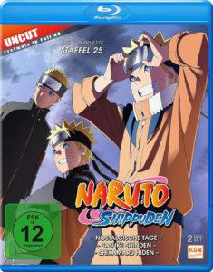 Naruto Shippuden - Staffel 25 - Episode 700-713 Cover