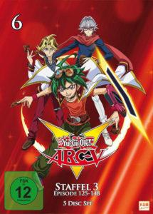 Yu-Gi-Oh Arc-V - Staffel 3-2 - Episode 125-148 Cover