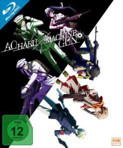 Aoharu X Machinegun 3 BD News Cover