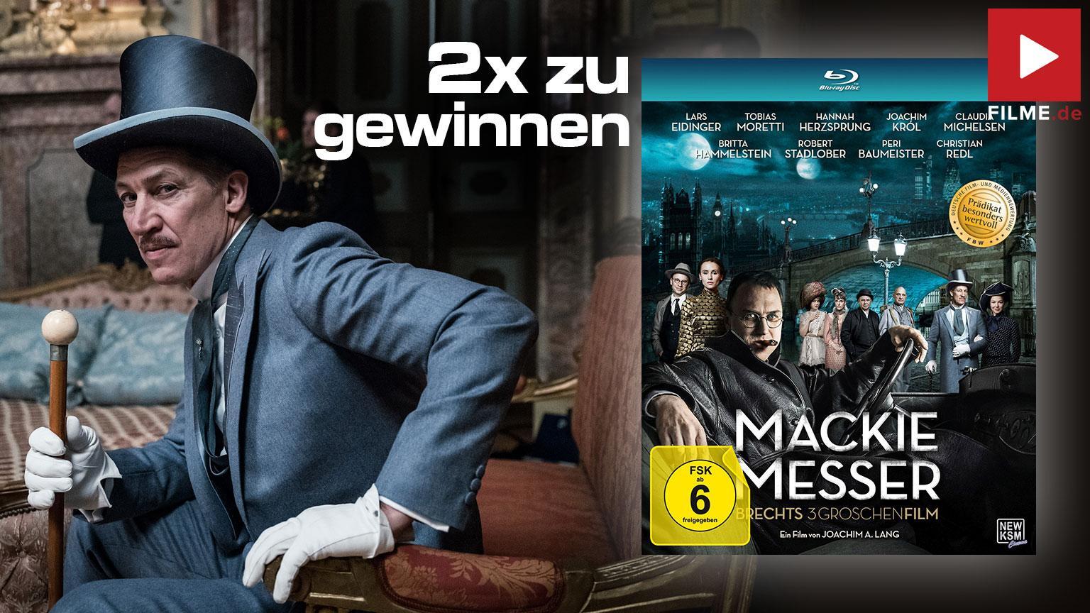Gewinnspiel Mackie Messer Blu-ray gewinnen Artikelbild