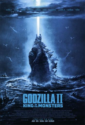 Godzilla 2: King Of The Monsters Kino Plakat