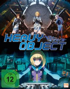 Heavy Objects Gesamtedition BD 2 News Cover