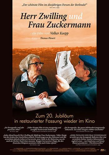 Herr Zwilling und Frau Zuckermann Kino Plakat