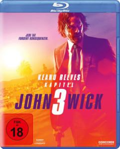 John Wick 3 Review BD Cover