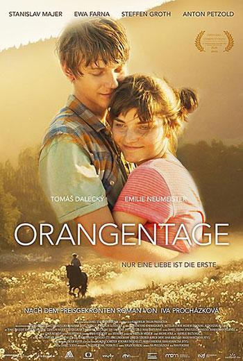 Orangentage Kino Plakat