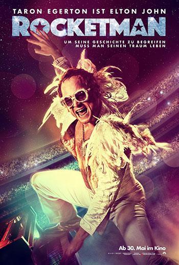 Rocketman Kino Plakat