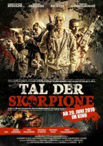 Tal der Scorpione Kino News Plakat