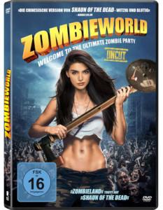 Zombieworld Review DVD Review Cover