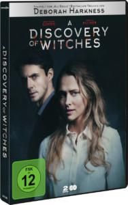 A DISCOVERY OF WITCHES S1 News DVD Cover