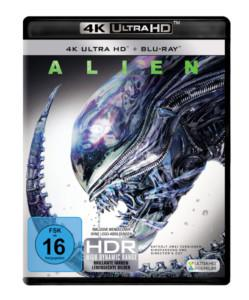Alien Review UHD Cover