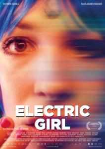 Electric Girl News Plakat