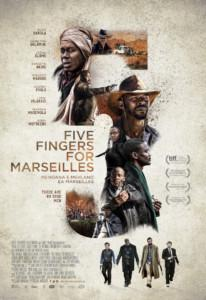 Five Fingers for Marseilles News Plakat