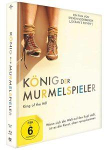 Koenig der Murmelspieler Review Mediabook Cover