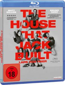 The House That Jack Built Review BD Cover