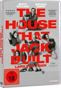 The House That Jack Built Review DVD Cover