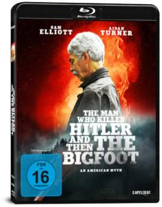 THE MAN WHO KILLED HITLER AND THEN THE BIGFOOT Review BD Cover