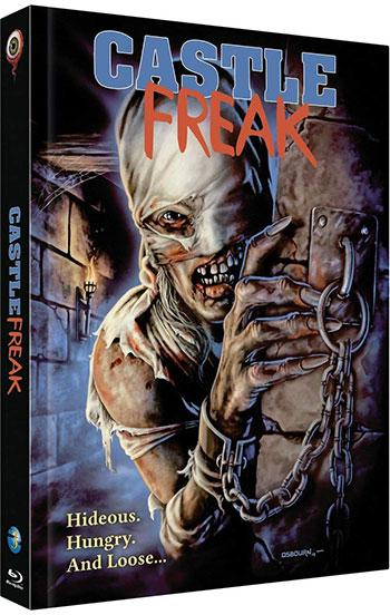 Castle Freak Blu-ray Cover