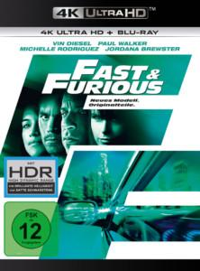 Fast Furious 4 UHD Cover