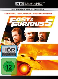 Fast Furious 5 UHD Cover