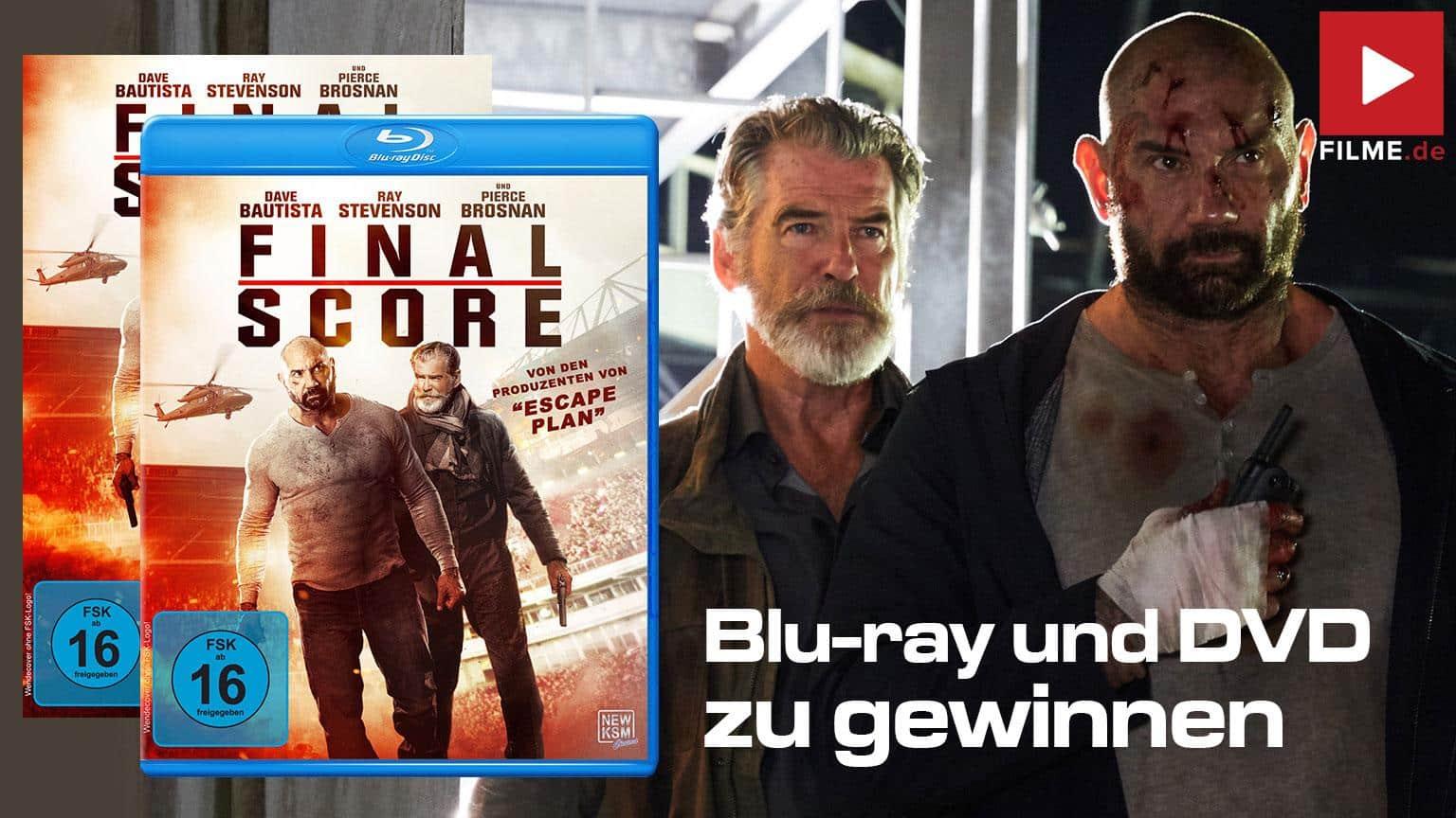 Final Score Gewinnspiel Blu-ray DVD Artikelbild