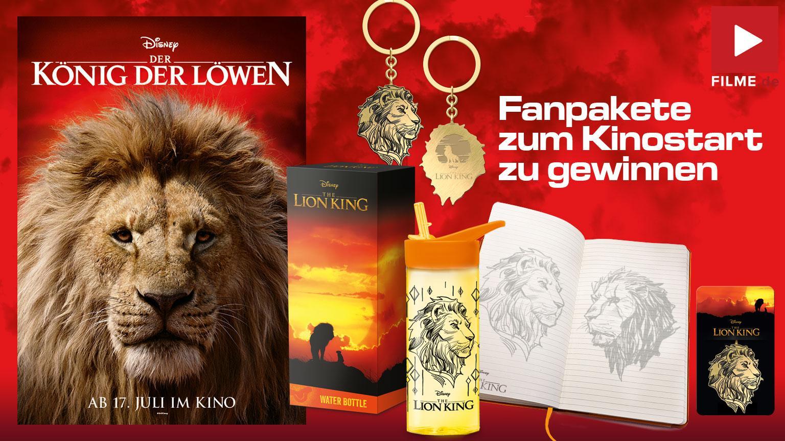 Zum Kinostart König der Löwen Fanpakete Gewinnspiel Artikelbild